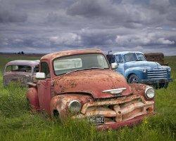 Vintage Auto Junk Yard