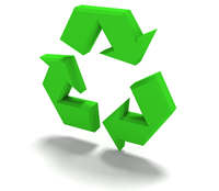 Environmentally-friendly auto parts recycler