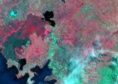 multispectral imagery of the Nzoia River basin