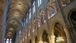 Notre Dame interior, photo by Lynette Chea under Creative Commons license