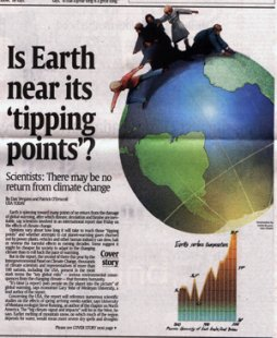 USA Today: Is Earth Near Its 'Tipping Points'?