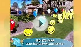 Birthday party yard signs for rent in Phoenix AZ