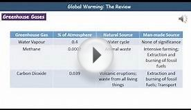 P2 5 Global Warming Foundation Tier Summary