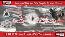 Standard Auto Wreckers We Buy Cars, We Sell Parts